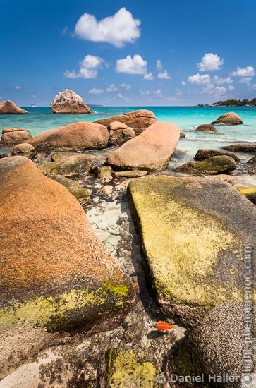 Granitfelsen, Seychellen