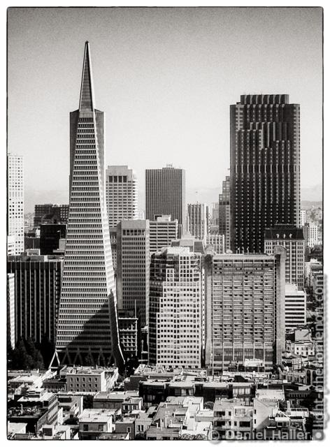 Transamerica Pyramid, San Francisco - Sony Cyber-shot DSC-P1