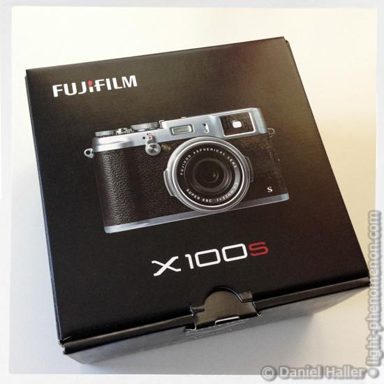 Fujifilm X100S Box