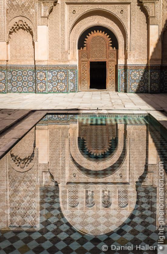 Medersa Ben Youssouf, Marrakesch, Fujifilm X100S