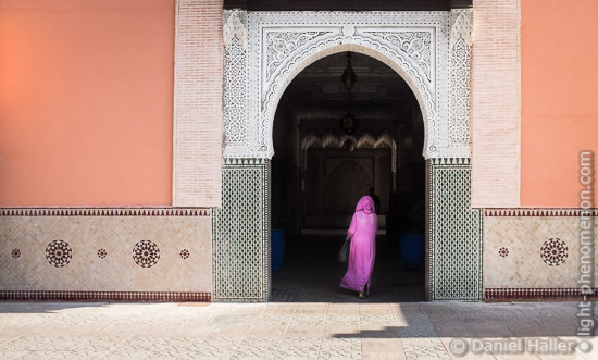 The Lady in Pink, Marrakesch, Fujifilm X100S