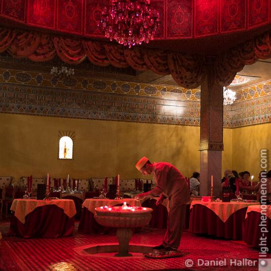 Der rote Salon, Restaurant in Marrakesch