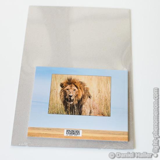 Pixum Fotobuch: Verpackung