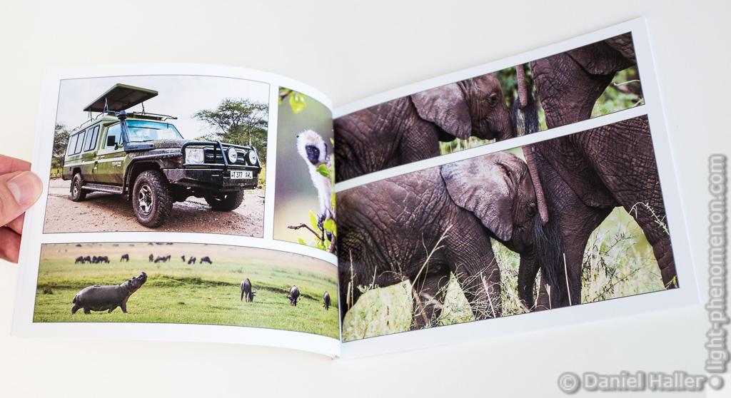 Das fertige Pixum Fotobuch