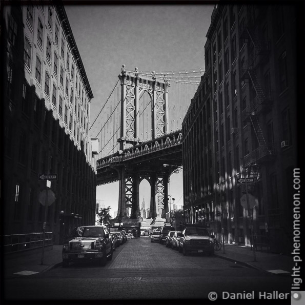 Manhattan Bridge, light-phenomenon.com, Daniel Haller