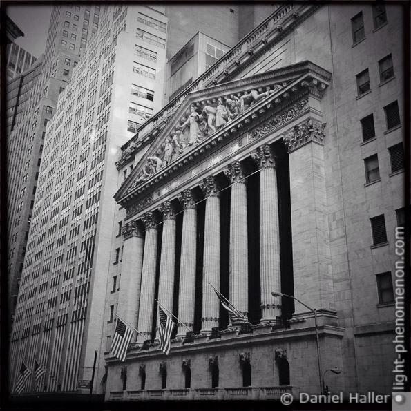 NYSE, New York Stock Exchange, light-phenomenon.com, Daniel Haller