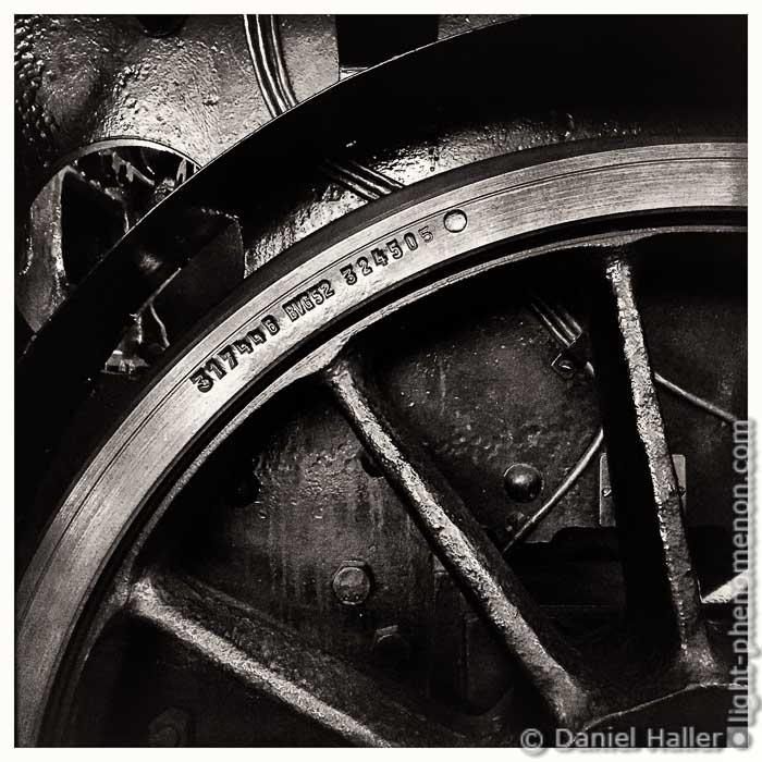 Steam Locomotive, Hipstamatic, Silver Efex Pro, Copyright: Daniel Haller, light-phenomenon.com