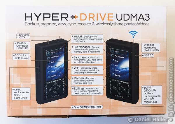 Hyperdrive Colorspace UDMA3, UDMA3-3839