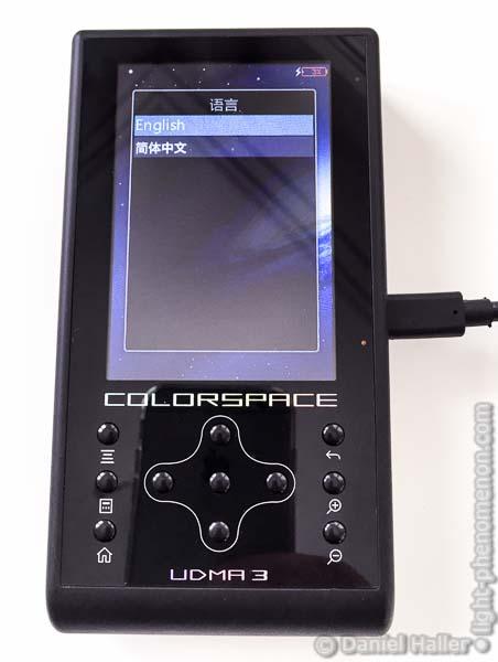 Hyperdrive Colorspace UDMA3, Language Settings, UDMA3-3861