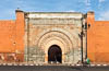 Bab Agnaou, one of the nineteen gates of Marrakesh, Morocco, Maghreb, North Africa, Copyright (c) Daniel Haller - light-phenomenon.com. All rights reserved.