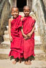 Two Novices, Myanmar (Burma), Southeast Asia, Copyright (c) Daniel Haller - light-phenomenon.com. All rights reserved.