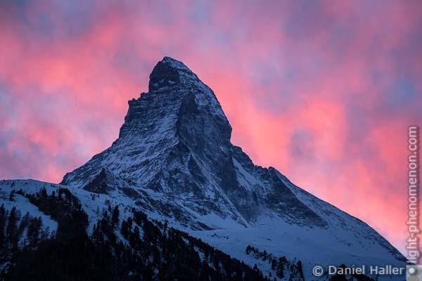 Matterhorn, Zermatt, Switzerland, 20161203-Zermatt-7372, Copyright: Daniel Haller, light-phenomenon.com