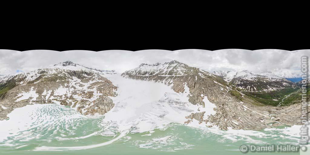 Rhonegletscher Panorama