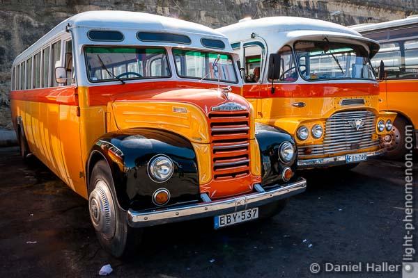 Oldtimer Busse auf Malta, Malta-5841, Daniel Haller, light-phenomenon.com