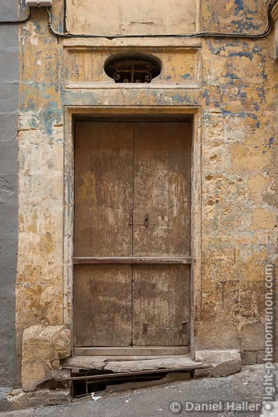 Alte Türe in Valletta, Malta, Weathered_Door-5918, Daniel Haller, light-phenomenon.com