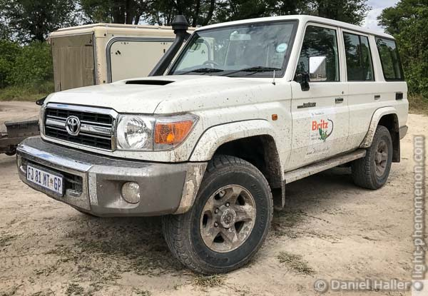Toyota Land Cruiser V8, Botswana, light-phenomenon.com