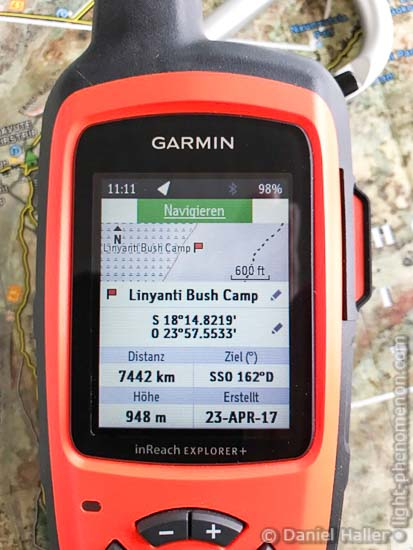 Garmin inReach Explorer+, Iridium Satellite Communication, light-phenomenon.com
