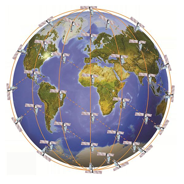 Iridium Satellites Artwork, Copyright: Iridium Communications Inc.