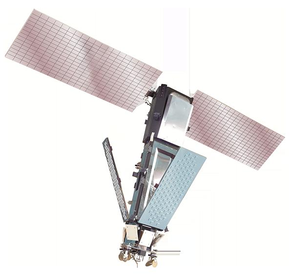 Iridium Satellit Artwork, Copyright: Iridium Communications Inc.
